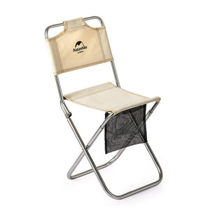Naturehike Folding Stool with Backrest MZ01 NH18M001-Z