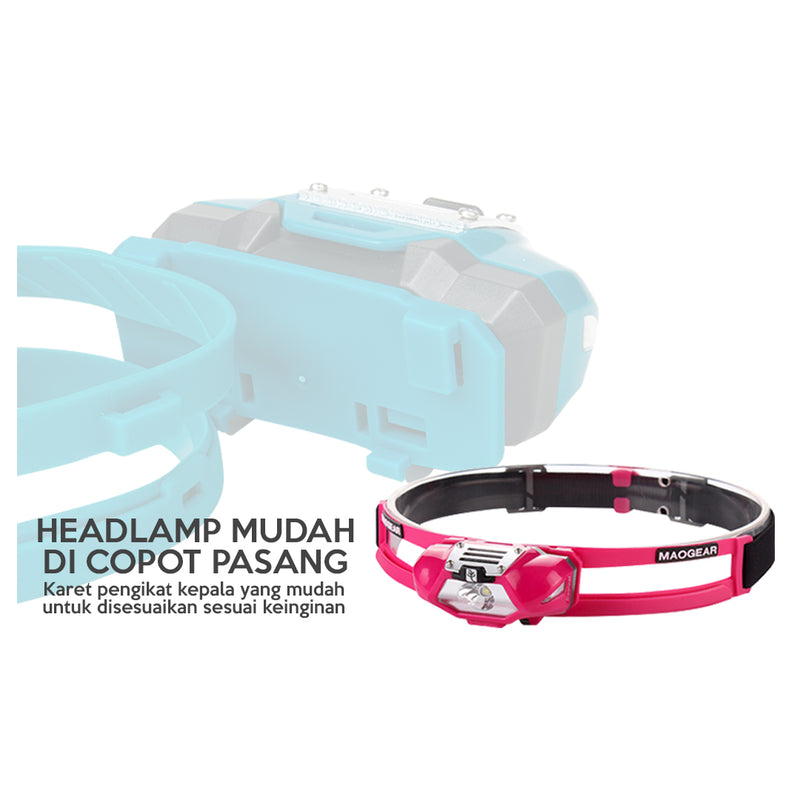 Sunrei Headlamp Running Coolpal - Hike n Run