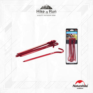 Naturehike Hexagonal Hook Tent Stakes NH17D027-D