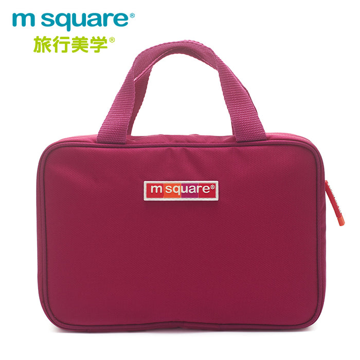 M-Square BT-II Double Cosmetic Bag