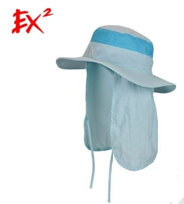 EX2 Topi Khusus Hiking Camping 369018 Blue-59
