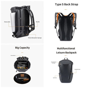 Ransel Backpack Anti Air Naturehike NH20BB001 Backpack Casual 25L