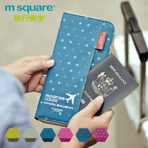 M-Square Passport Holder Long