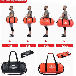 Naturehike Waterproof Duffle Bag 120L NH16T002-R