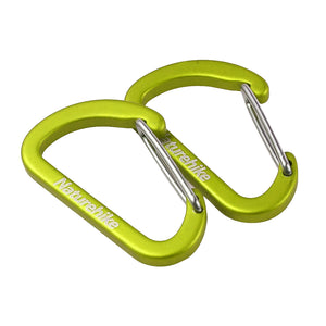 Naturehike Carabiner D-Mini 4 cm NH15A004-H 2Pcs