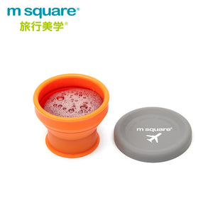 M-Square Smart Folding Silicone Bowl & Cup