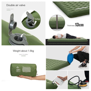 Naturehike Double Inflateable Sleeping Pad Cushion NH19QD010