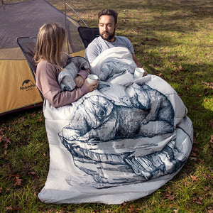 Naturehike Double Sleeping Bag With Pillow NH19S016-D