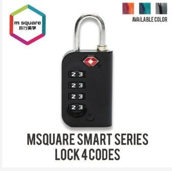 M Square Smart Zinc-Alloy Lock