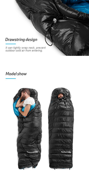 Naturehike CW400 Sleeping Bag Goose Down NH18C400-D