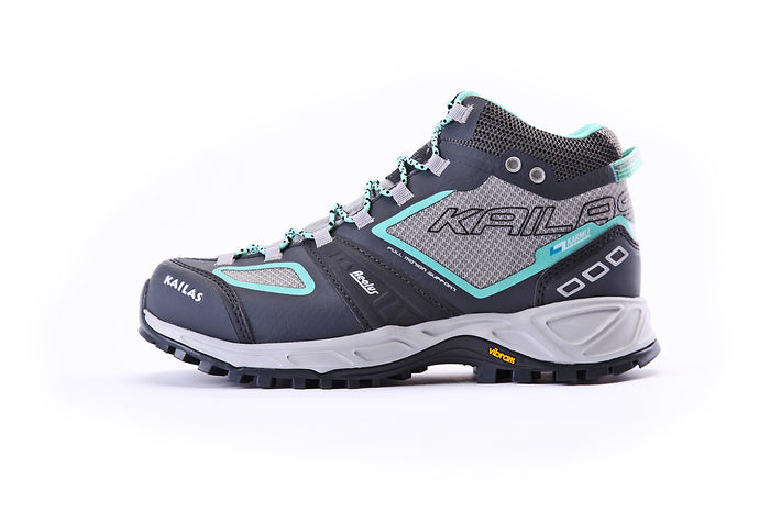 KAILAS Women Hiking Shoes Aeolus Mid Grey - 15000
