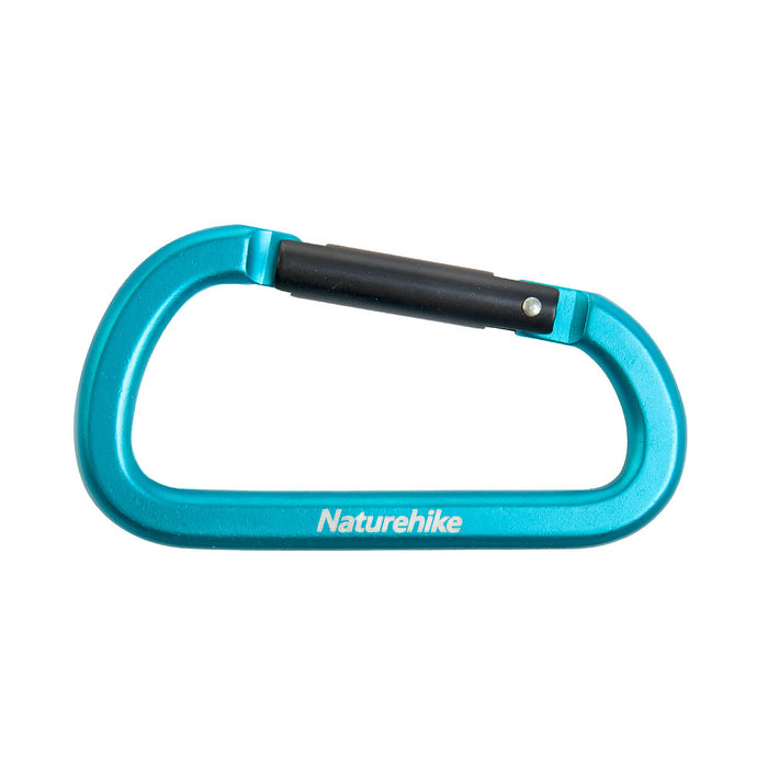 Naturehike Carabiner D-Utility 8 cm No-Lock NH15A001-H