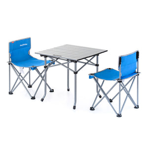 NH Foldable Table Chair Set 3 pcs NH17Z002-S - Hike n Run