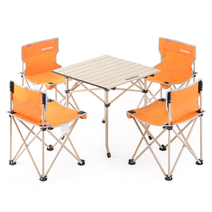 Naturehike Foldable Table Chair Set 5 pcs NH17Z002-Z