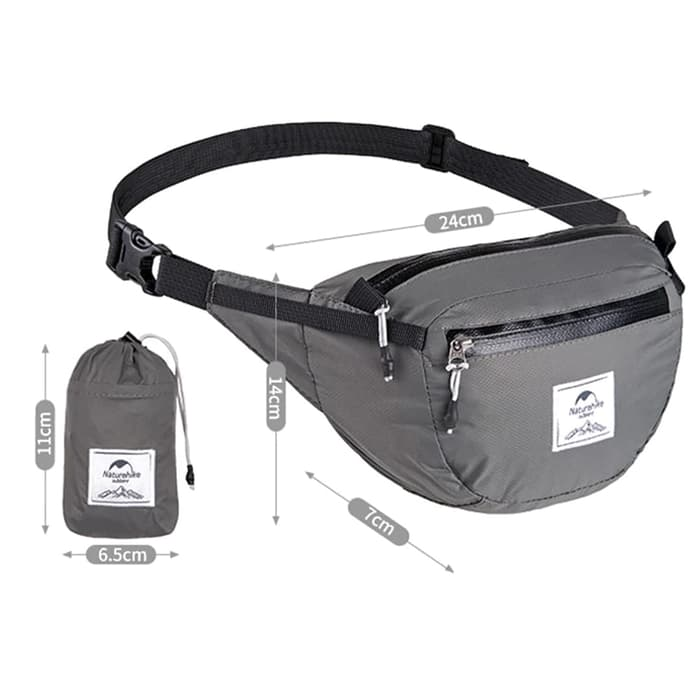Naturehike Waist Bag Silicone DL02 NH18B300-B