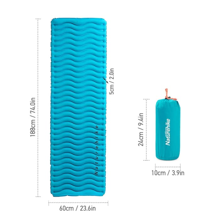 Naturehike FC09 Corrugated TPU Mattress NH18C009-D