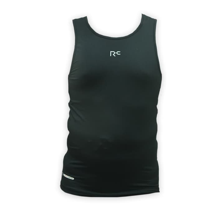 RC Compression T-Shirt No-Sleeve D07 Men - Hitam