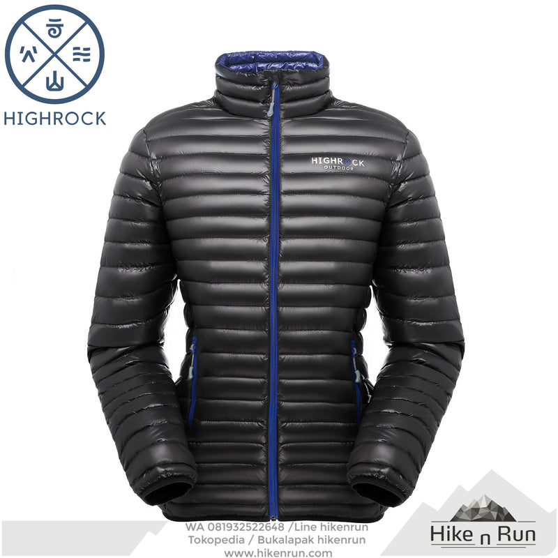 HR Jacket S01 Men Black Blue - Hike n Run