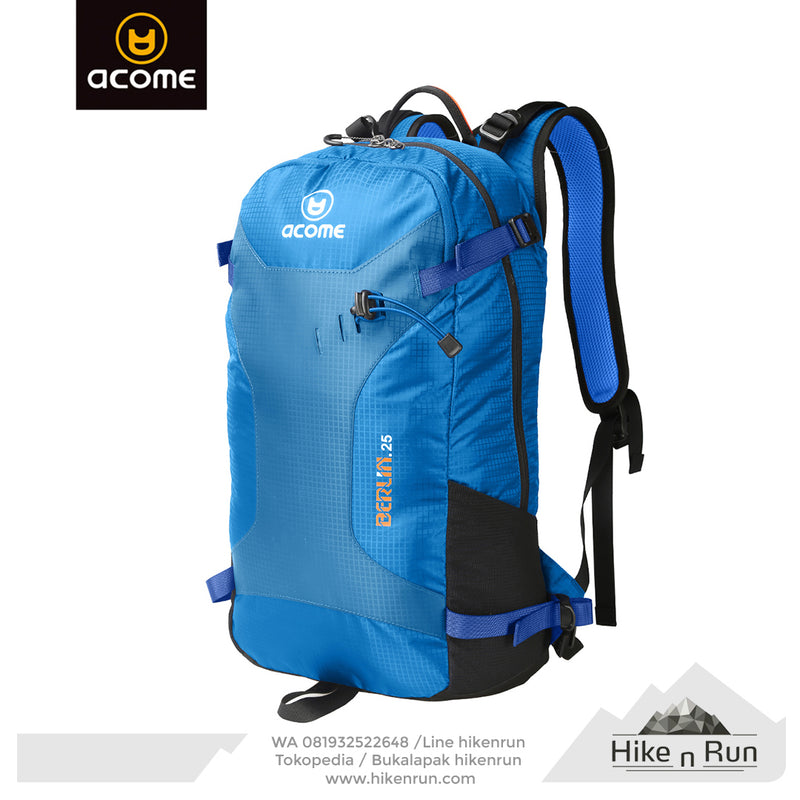 ACOME Backpack BERLIN 25L AA162B0805 Blue - Hike n Run