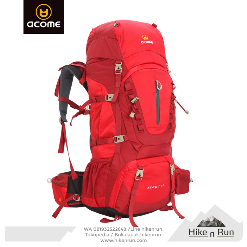ACOME Backpack FIGHT 75L AA141B0801 - Hike n Run