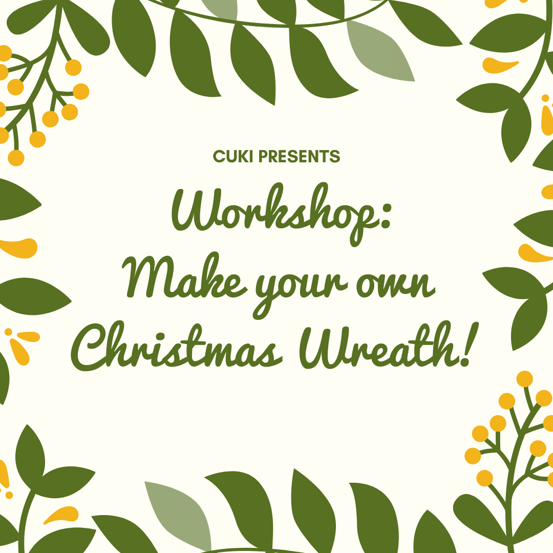 Workshop: Make your own Christmas Wreath