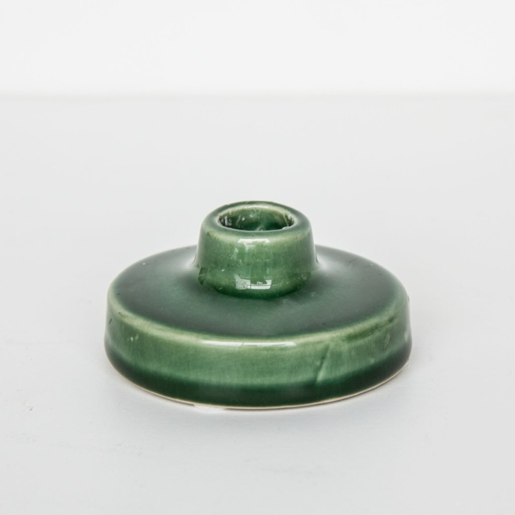Crackle Candle Holder Jade UNC - CuKi-Amsterdam