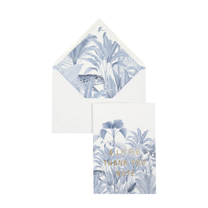 Ansichtkaart Blue Jungle Thank You - Creative Lab | CuKi Online