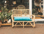 Rotan Bank Loveseat