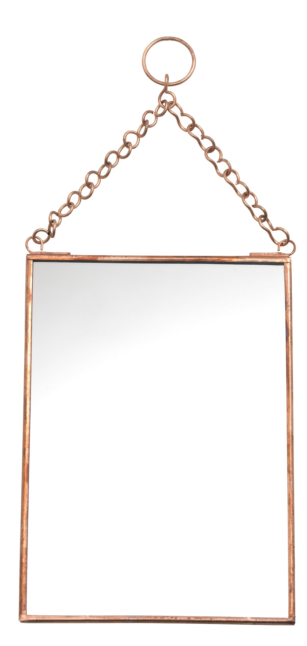 Hanging Mirror Copper - Madam Stoltz | CuKi Online