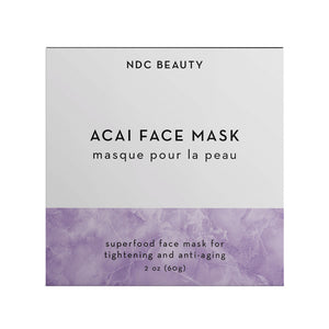 NDC Beauty acai superfood face mask