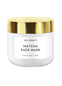 ndc beauty matcha superfood face mask jar