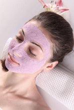 girl wearing NDC Beauty beetroot superfood face mask