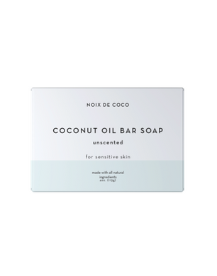 ndc beauty unscented coconut oil bar soap
