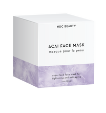 ndc beauty acai superfood face mask box