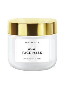 ndc beauty acai superfood face mask jar