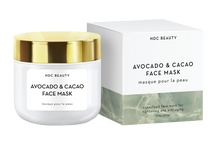 ndc beauty avocado & cacao superfood face mask box and jar