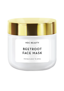 NDC Beauty beetroot superfood face mask jar