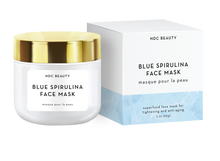 ndc beauty blue spirulina superfood face mask box and jar