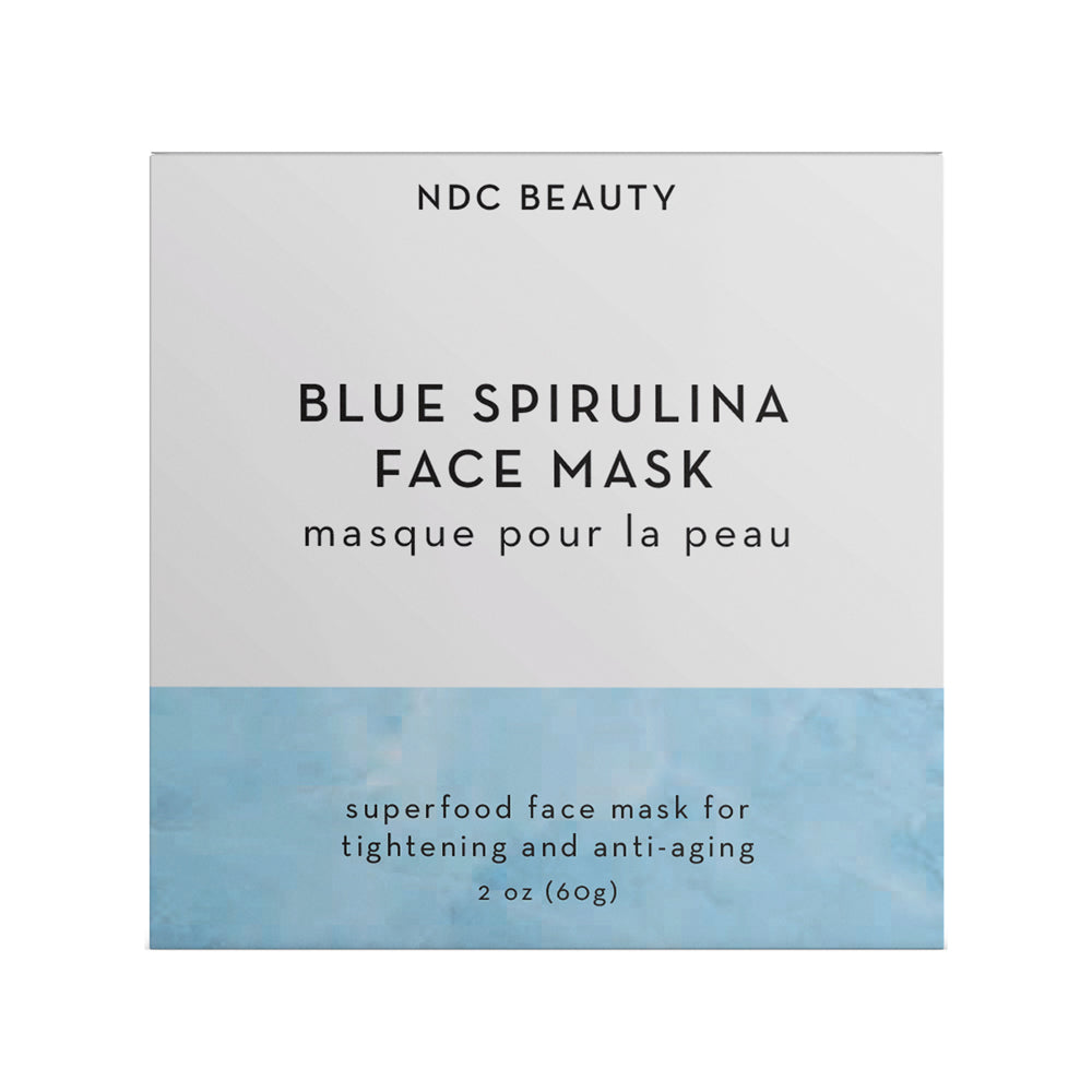ndc beauty Blue Spirulina superfood Face Mask