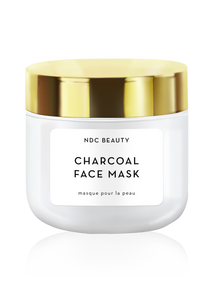 ndc beauty activated charcoal superfood face mask jar