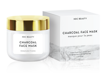 ndc beauty activated charcoal superfood face mask box and jar