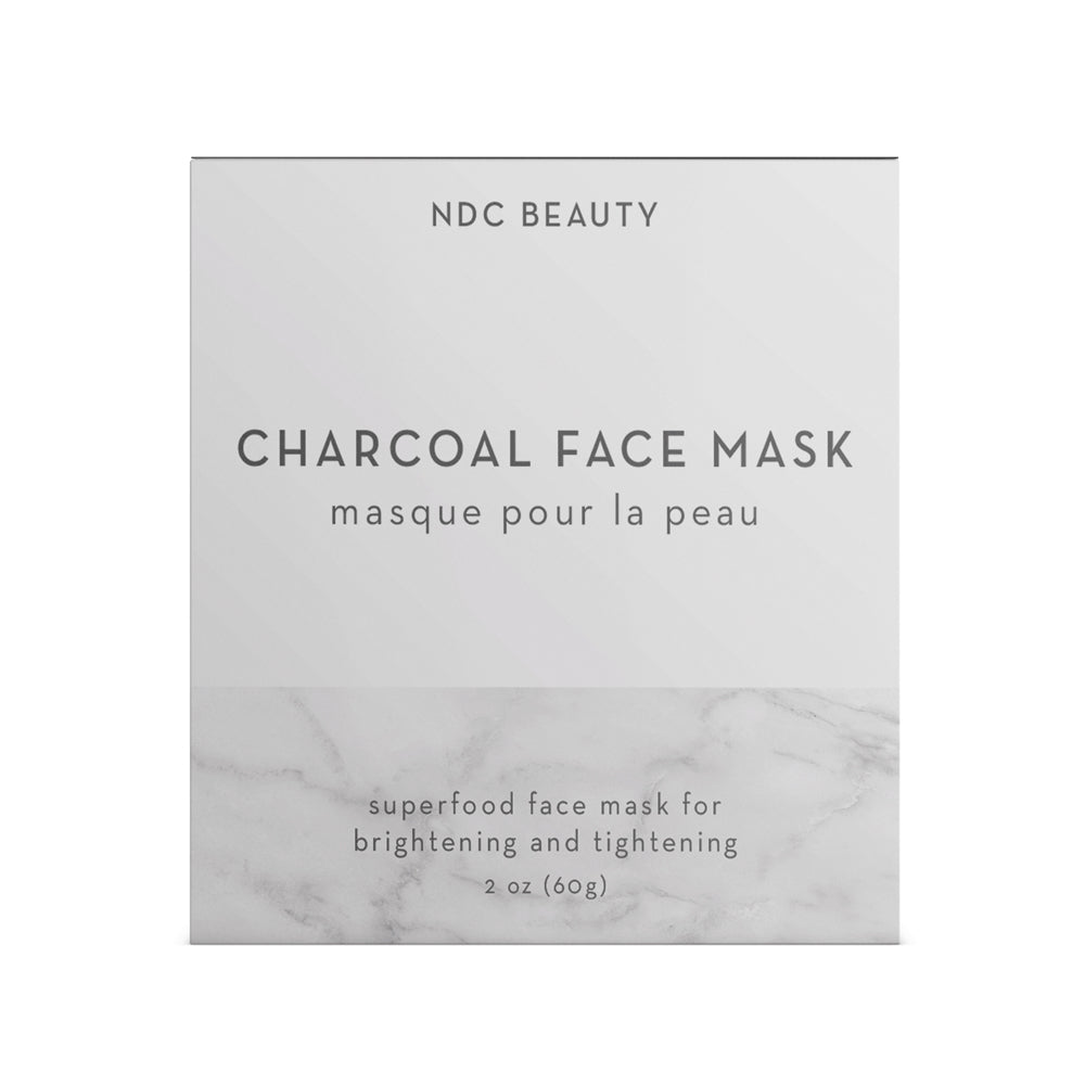 ndc beauty activated charcoal superfood face mask