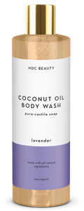 ndc beauty lavender coconut oil body wash