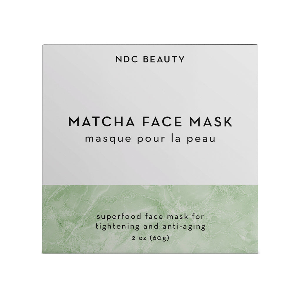 ndc beauty matcha superfood face mask