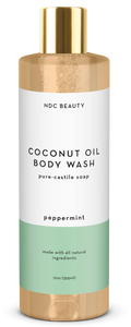 ndc beauty peppermint coconut oil body wash