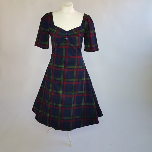 Darling Check Dress