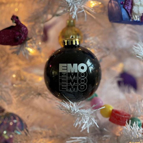 Emo Christmas Ornament
