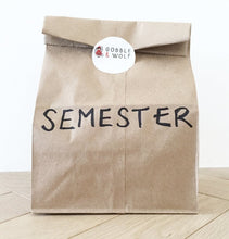 Semester Pack - $8.50 per lunch