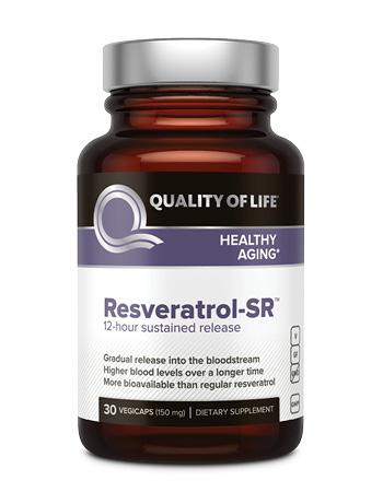 Resveratrol Sr Quality Of Life Shop High Quality Science Based Nutritional Supplements Online