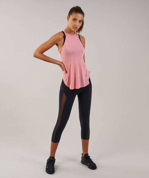 Sleek Aspire Crop Leggings - Black 3